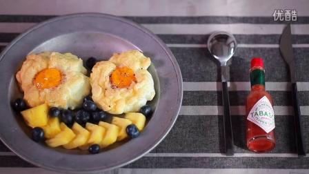 早餐 云朵蛋,颜值最高的鸡蛋新吃法