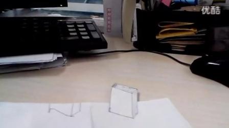3D立体图 4D立体画 3D 铅笔素描 _高清