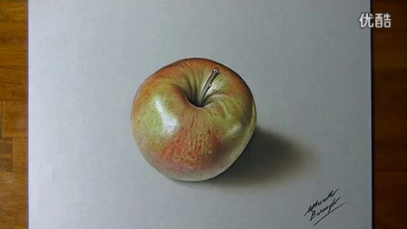 How I Draw A Shiny Apple_标清