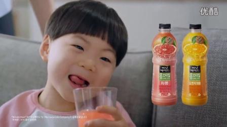【三胞胎大韩民国万岁】美汁源广告30秒