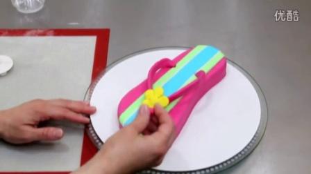 创意翻糖蛋糕制作教学