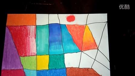 涂涂画画认识颜色涂颜色人美一上跟李老师学画画