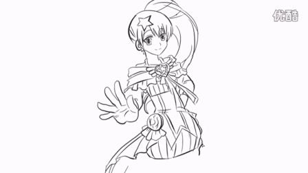 [小林简笔画]教你如何绘画巴啦啦小魔仙贝贝公主卡通动漫简笔画