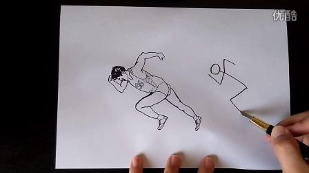动态之美一五年级上跟李老师学画画