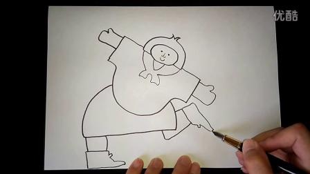 拼贴画五年级上跟李老师学画画