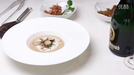 关注微博.ChefSteps-george.奶油蘑菇汤