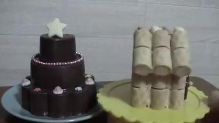 【Amy时尚世界】日本食玩-可食 自己制作巧克力蛋糕  (o´・ェ・`o)求订阅