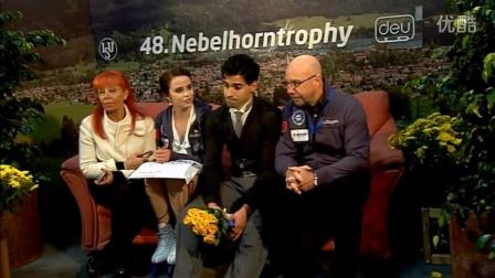 Anna CAPPELLINI - Luca LANOTTE Nebelhorn Trophy 2016 FD