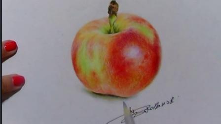 【艺达】彩铅零基础入门教程—超写实苹果
