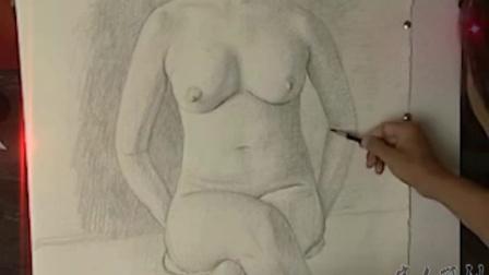 现场 人体素描教程 教学  第2集