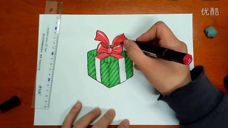 圣诞礼物🎁怎么画跟李老师学画画
