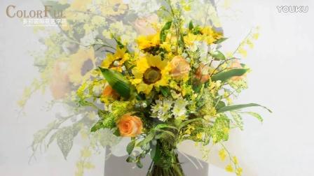 韩国花艺分享会 多彩国际花艺学院 专业花艺培训机构 插花课程培训