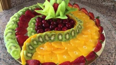 简单的水果拼盘图片及做法