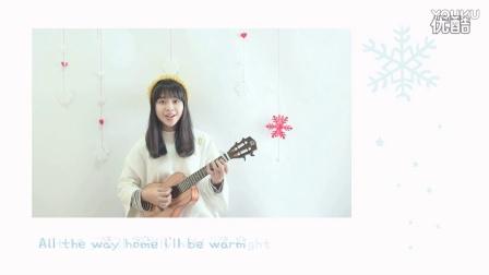 Realsun瑞声尤克里里AC100桃花芯全单_《let it snow》圣诞歌弹唱 By香蕉 桃子鱼仔ukulele教室