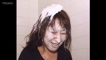 美女 奶油脸 抹蛋糕 抹奶油