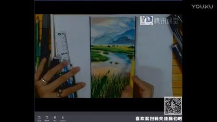 【艺达】手绘零基础入门教程(桂林山水手绘)