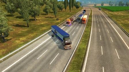 欧洲卡车模拟2:联机趣事(266)