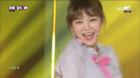【AE】170404.韩秀榜冠军秀. gugudan《像我一样的女孩》最新现场