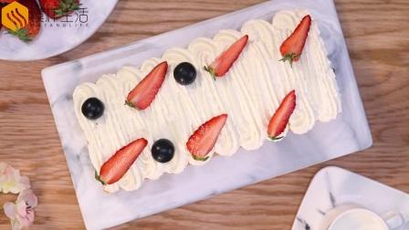 好卷不易开裂的奶油蛋糕卷@模样生活