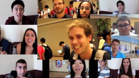 亚利桑那大学国际学生迎新