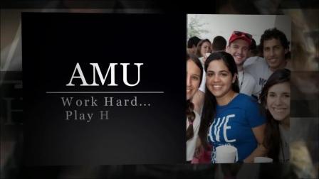 One Day at AMU 圣母玛利亚大学的一天