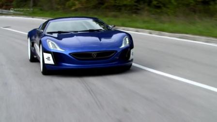 克罗地亚的电动超跑Rimac Contept One,号称世界最快最贵的纯电动车