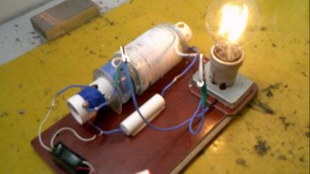 一节电池驱动的卡帕发电机改进版