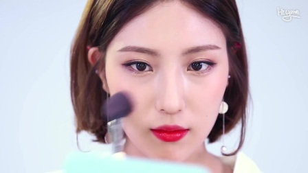 🍅 番茄色调水果每日妆容 daily make up — Hiyena