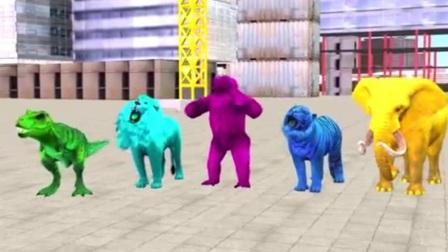 恐龙玩具视频 恐龙总动员 恐龙当家 恐龙世界 霸王龙 恐龙动画片18