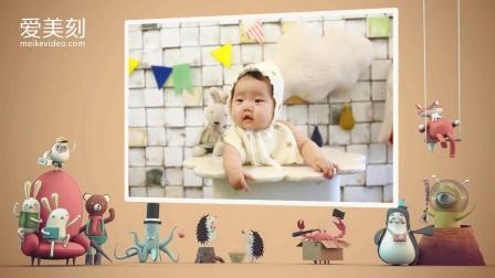 我和小伙伴 爱美刻儿童电子相册 宝宝视频制作