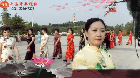 """辛集老干部局""""夕阳红模特队""""2017.6.18"""