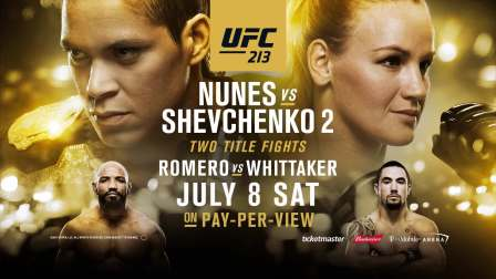 UFC 213 - This Card is Stacked
