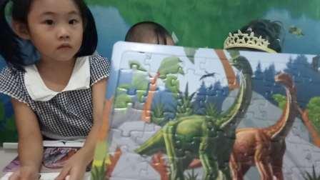小猪佩奇拆恐龙飞行棋玩具 恐龙图片