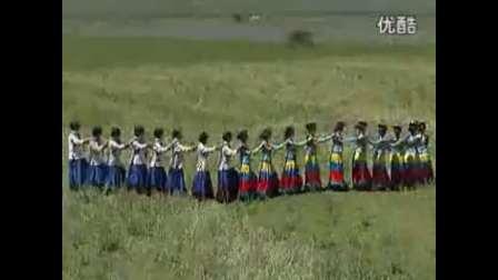 云南省宁蒗彝族自治县民族团结舞之彝族舞1