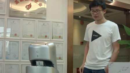 PadBot X1派宝商用机器人应用情景-人工远程应答