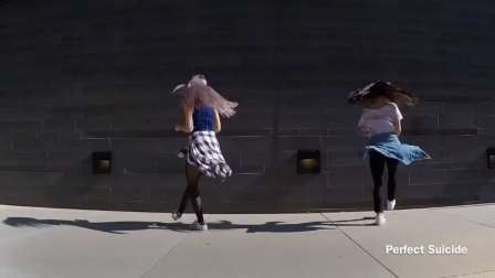 国外女曳Shuffle Dance