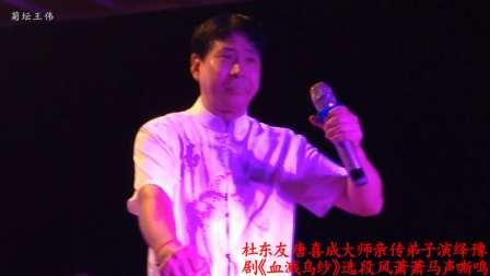 杜东友唐喜成大师亲传弟子演绎豫剧《血溅乌纱》风萧萧马声嘶鸣13017603297