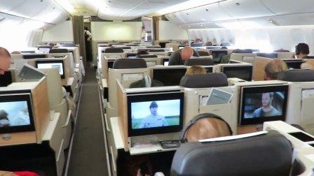 瑞士航空 Boeing777-300ER苏黎世-旧金山全新公务舱体验