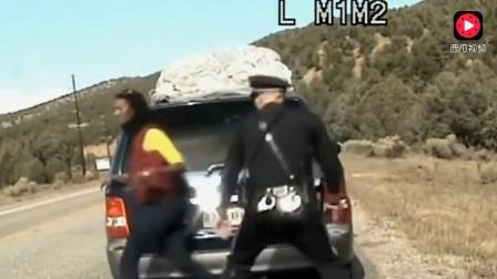 拒捕的后果很严重-外国警察追捕现场