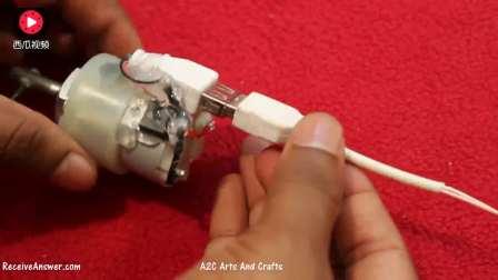 DIY手摇式发电,手机冲电系统