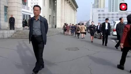 实拍:揭秘朝鲜街头,有奔驰,军人随处可见