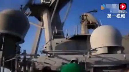实拍俄战机9米低空掠袭美舰多次做攻击动作