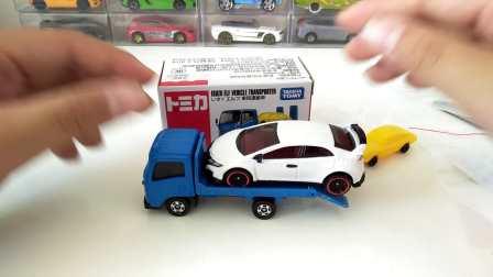 【ZHZ】Tomy60 多美卡 五十铃 ELF 汽车搬运车 简评