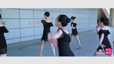 少儿拉丁舞学员展示 单色舞蹈儿童培训班