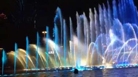 澳门永利酒店音乐喷泉