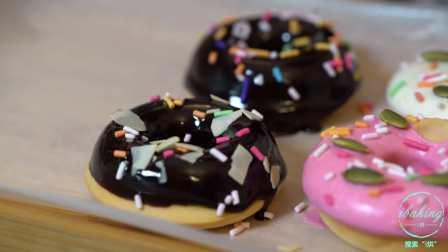 想吃不用炸的甜甜圈?不如来一款超省事的甜甜圈蛋糕!