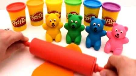 制作冰淇淋的玩具模具之制作蛋糕和汉堡玩具视频73