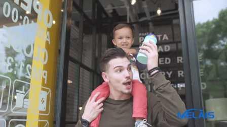 时代光年定制广告——儿童款保温杯