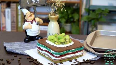 度过秋日美好时光,只需一份五彩缤纷的彩虹戚风蛋糕!