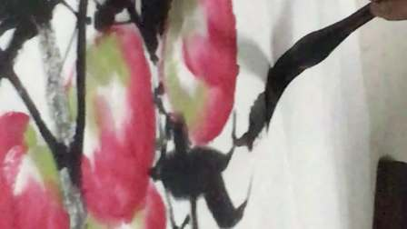 石建勋教授国画课:寿桃的结构与画法